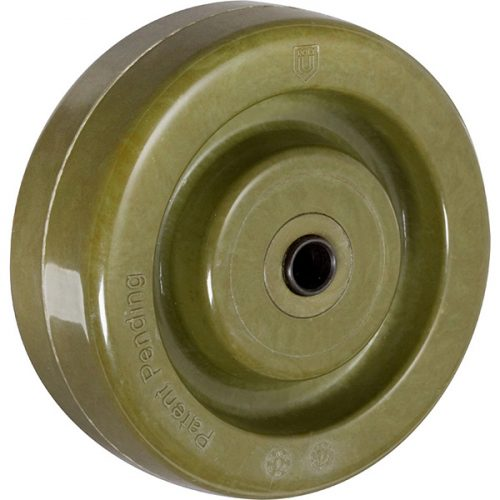 "4''x 1-1/2"" Bakery Fever-Tech Hi-Temperature Wheel"