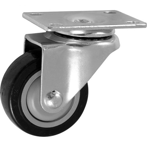 "SWIVEL - 3''x 1-1/4"" Light Medium Duty Swivel Caster with Non Marking Polyurethane wheel"