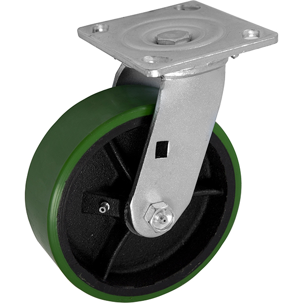 Green Big Casters with 6
