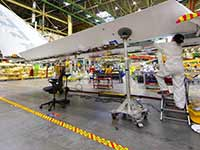 Aerospace industry casters