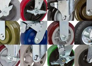 Wide selection of casters